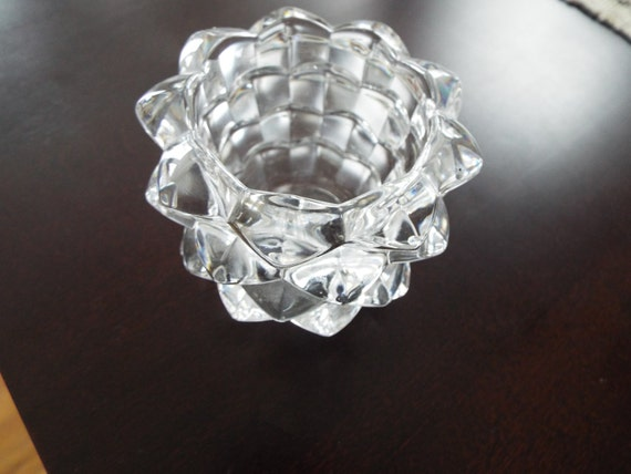 Tiffany Amp Co Glass Crystal Votive Candle Holder