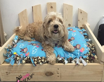 Large or extra large dog beds made to order reclaimed rustic - Pallet Dog Bed Etsy