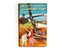 The Happy Hollisters and the Secret Fort, Jerry West, Illus Helen S Hamilton, 1955 Childrens Chapter Books