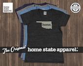 Oklahoma Home. T-shirt- Womens Cut