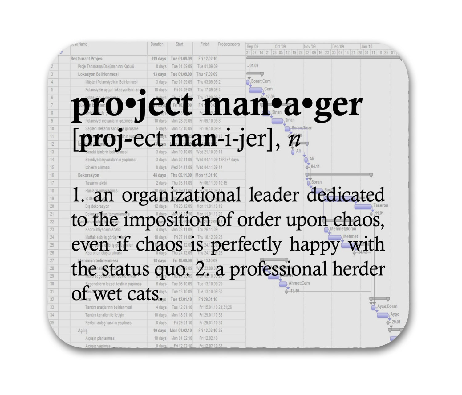 definition of an it manager How would you define manager google will tell you a manager is a person  responsible for controlling or administering all or part of a.