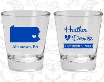 Pennsylvania Shot Glass, Pennsylvania Shot Glasses, Pennsylvania Glass, Pennsylvania Glasses, Pennsylvania Glassware (137)