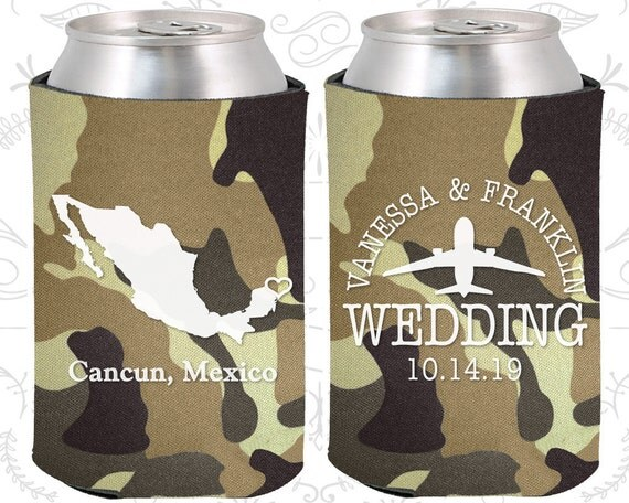 Wedding Gift For Destination Wedding: Mexico Wedding Favors Coolies Destination Wedding Gift