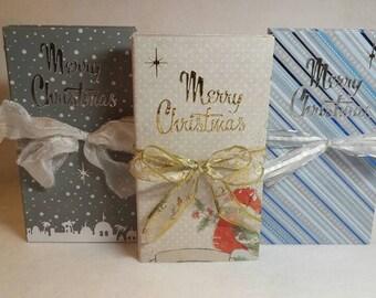 Custom Folio, Christmas Folio, Foto Folio, Chipboard Album, Mini Album, Christmas Album, Photo Album, Memory Albums, Baby's First Christmas