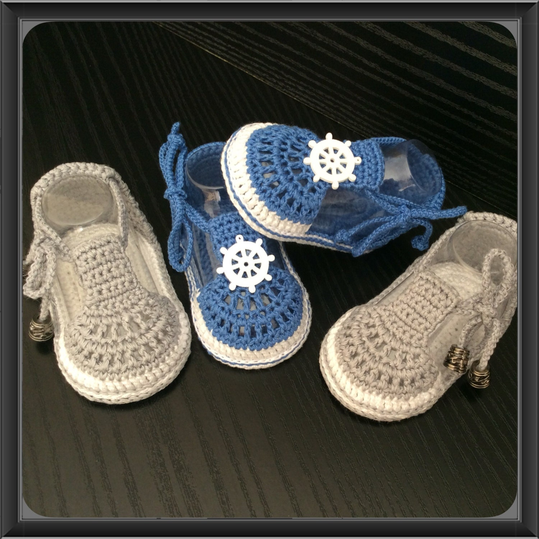 h keln babyschuhe baby boy h keln sandalen in blau oder grau. Black Bedroom Furniture Sets. Home Design Ideas