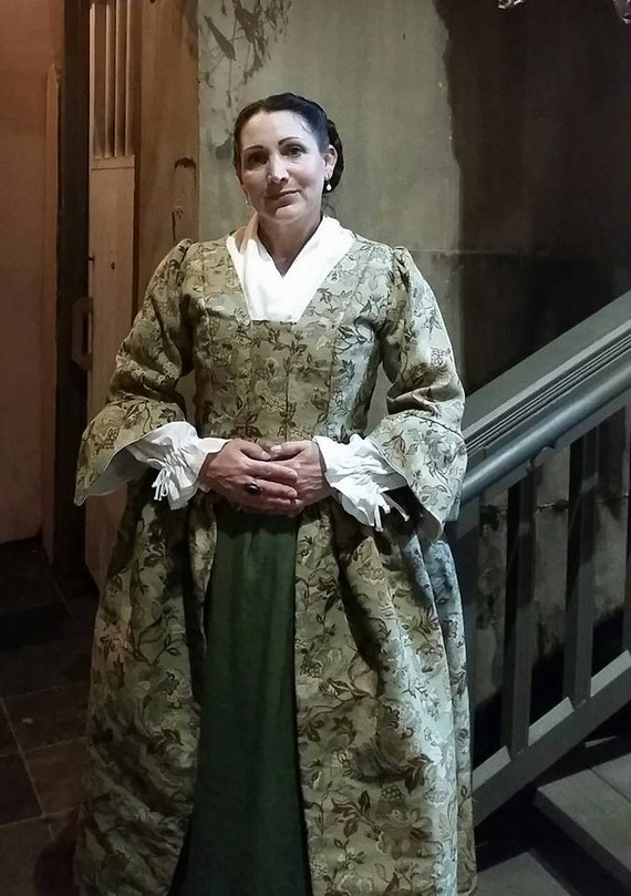 18 th Century Day Dress  Custom Order Please Message