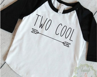 Two Cool Shirt Boy Second Birthday Shirt 2nd Birthday Shirt Two Birthday Boy Shirt 2 Shirt Boy Two Birthday Shirt 227