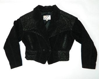 Vintage 90s Wilson Leather Jacket