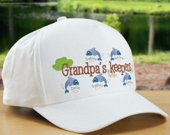Personalized Keepers Fishing Hat
