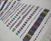 Unique Mexican Table Runner Related Items Etsy