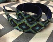 Quatrefoil headband -stay in place-