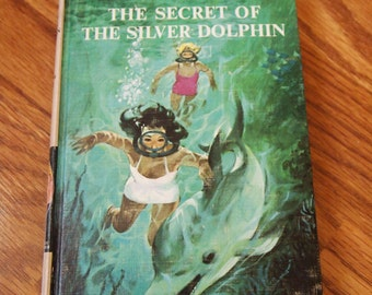 First Edition Dana Girls Secret of the Silver Dolphin 1965 Carolyn Keene