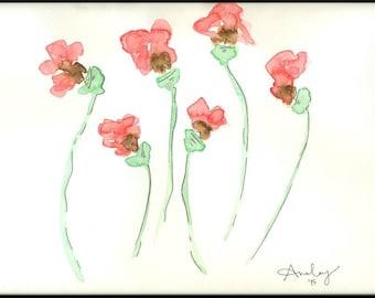 Poppies (Print)