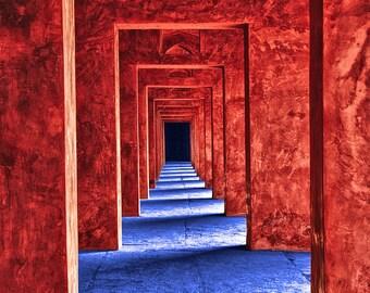Taj Passages - 8x10 print - Fine Art - Wall Art - Inquire about Size & Frame Options