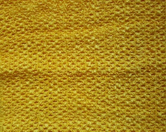 "YELLOW  10"" X 9"" crochet tutu top  - tutu dress supply,tutu top,stretchy tutu dress top ,tutu dress top"