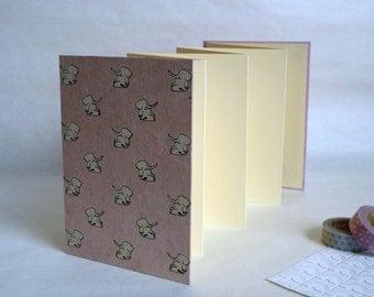 Photo album baby, 12, 5 x 17, 5 cm, 14 pages. Baby album, baby gift.