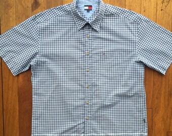 Vintage Tommy Hilfiger Short Sleeve Shirt Large