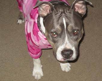 Custom Made Pit Bull Pajamas