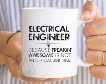 Christmas Gift for electrical engineer, engineer mug, engineer graduation, gift ideas for engineering students, funny engineering gift MU353