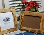 Unusual and Rare Reclaimed American Elm  5x7 or 8x10 Picture Frames, Reclaimed Wood Frame
