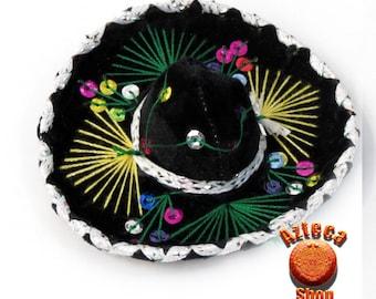Mexican Mini Charro Sombrero Hat