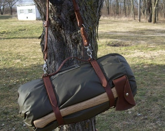 Bushcraft Bedroll Harness