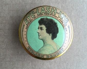1916 Eyelash Remedy Tin- Chicago, Illinois