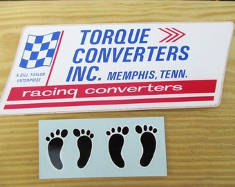 Torque Converters and Bare Feet Decals