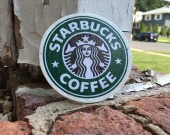 Starbucks inspired magnet