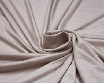 Pearl or Dusty Mauve Jersey Scarf
