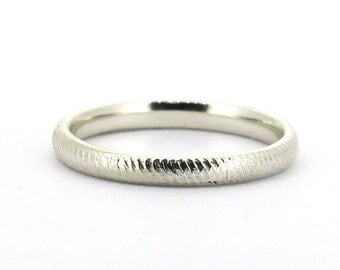 Sterling Silver Rope Ring 2mm Handmade All Size