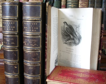 A HISTORY Of BRITISH BIRDS - 3 volumes