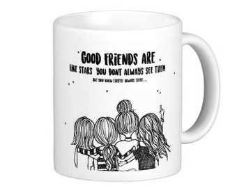 Best Friend Long Distance Coffee Mug Original By