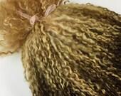 Premium English Teeswater Locks, very long. Dolls hair, waldorf, blythe, troll etc