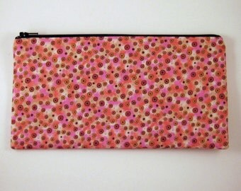Colorful Zipper Pouch, Pencil Pouch, Make Up Bag, Gadget Bag