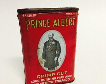 Vintage Prince Albert Pipe Tobacco Tin