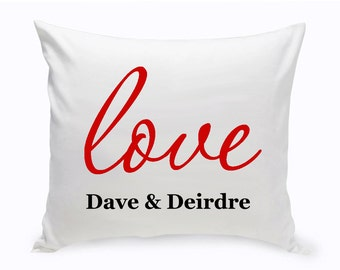 Personalized Couples Unity Throw Pillow - Couples Personalized Pillows - Couples Throw Pillow - Couple's Gifts - Wedding Gifts - GC1381 G22