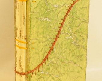 Coptic Binding with Caterpillar Stitching.     (219)