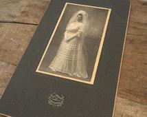 Antique Bride Photo Galveston Texas