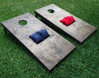 Cornhole, Bean Bag Toss, Corn Toss, Wedding Game, Cornhole Boards, Stained Cornhole Boards, Stained Cornhole