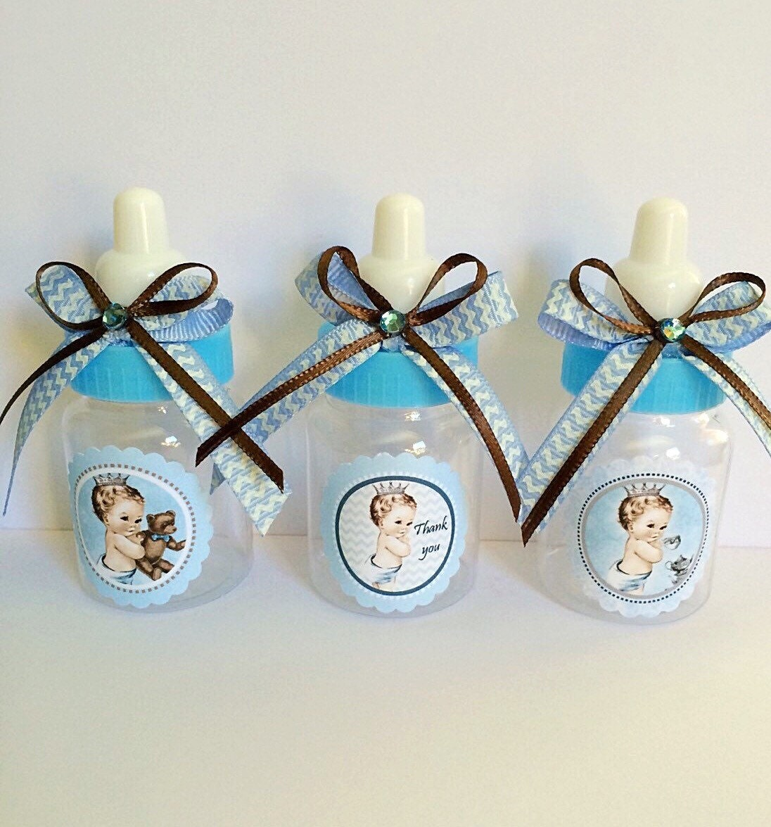 Prince Baby Shower Favors: 12 Vintage Little Prince Baby Shower Favors Boy's Baby