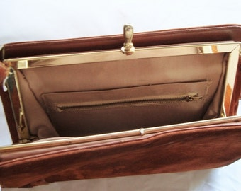 Classic vintage Suede Cross-Body Bag