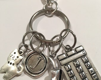 DESIGN YOUR OWN key chain, luggage tag, purse charm!