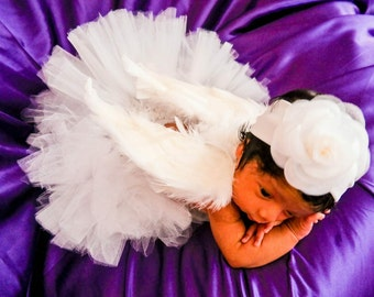 Angel Tutu Set - Infant - Tutu with Angel Wings only!!!