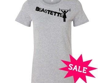 SALE! BeastEtte Barbell Tee XL