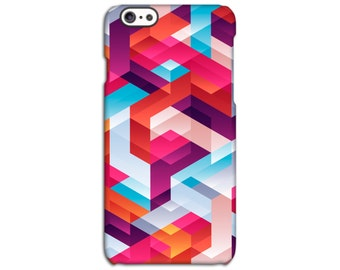 Geometric Maze Patterned Case for iPhone 4/4S 5/5S 5C 6/6S 6/6S Plus SE
