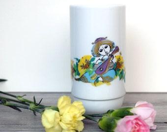 Vintage Rosenthal Bjorn Wiinblad small porcelain vase