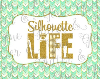 Silhouette Life SVG