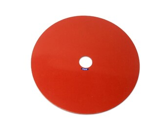 "Silicone Rubber Pad 4-1/2"" For Solid Flask Casting With Vacuum Assit. Jewelry Tools WA 365-340"