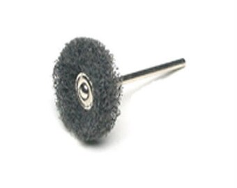 "Silversmith Jewelry Polishing Miniature Satin Finish Wheel 1"" Dia. - Grit Fine WA 416-090"